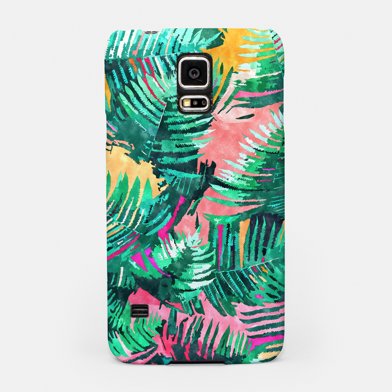 Image of I'm All About Palm Trees & 80 Degrees Samsung Case - Live Heroes