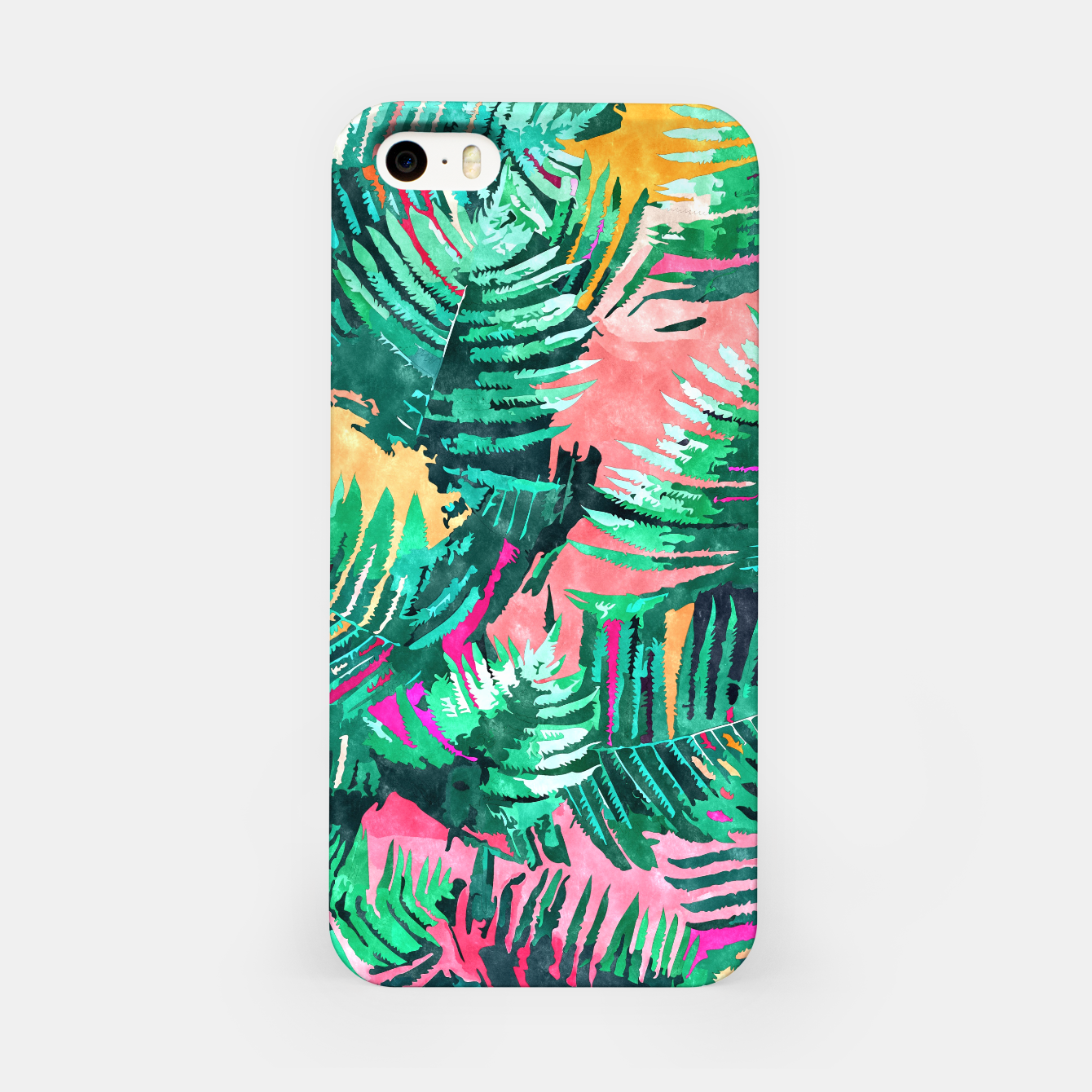 Image of I'm All About Palm Trees & 80 Degrees iPhone Case - Live Heroes