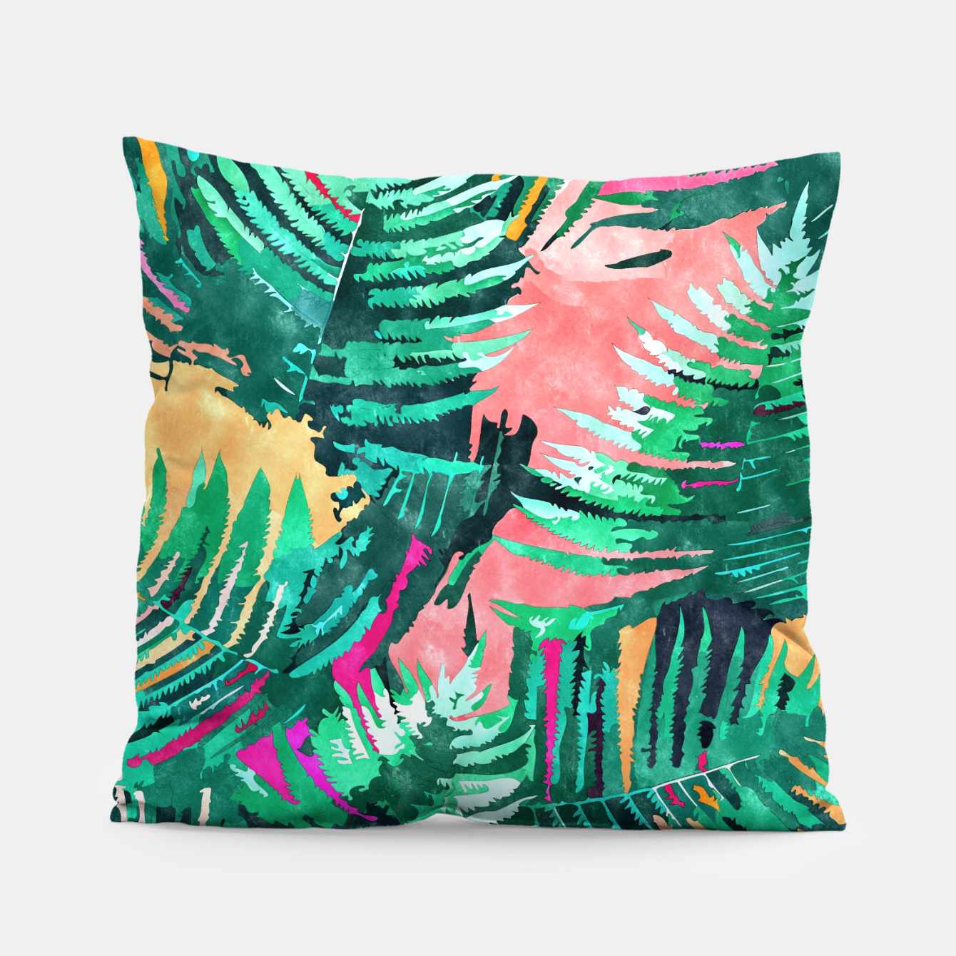 Image of I'm All About Palm Trees & 80 Degrees Pillow - Live Heroes