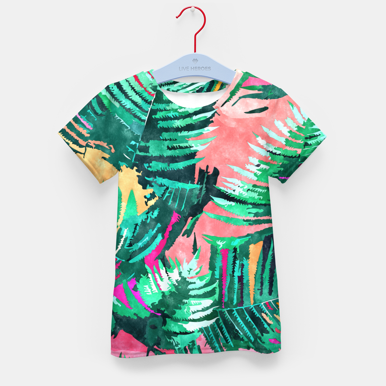 Image of I'm All About Palm Trees & 80 Degrees Kid's t-shirt - Live Heroes