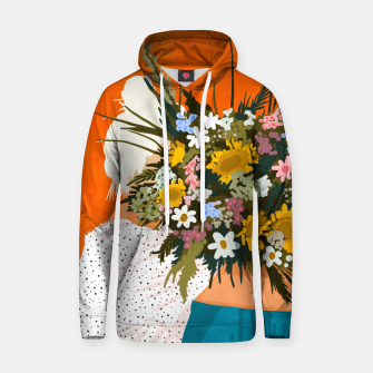 Miniaturka Happiness Is To Hold Flowers In Both Hands Hoodie, Live Heroes