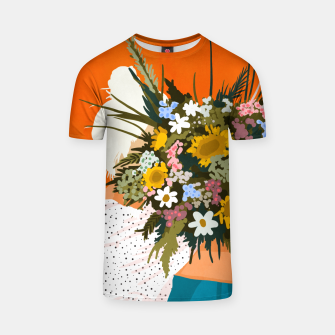 Miniaturka Happiness Is To Hold Flowers In Both Hands T-shirt, Live Heroes