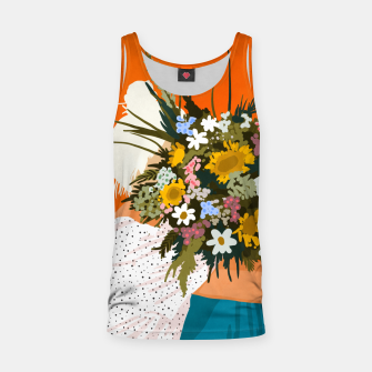 Miniaturka Happiness Is To Hold Flowers In Both Hands Tank Top, Live Heroes