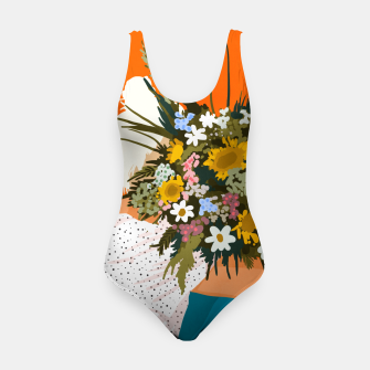 Miniaturka Happiness Is To Hold Flowers In Both Hands Swimsuit, Live Heroes