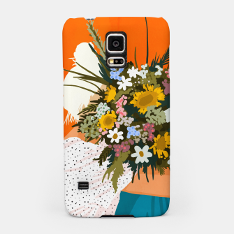 Miniaturka Happiness Is To Hold Flowers In Both Hands Samsung Case, Live Heroes
