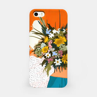 Miniaturka Happiness Is To Hold Flowers In Both Hands iPhone Case, Live Heroes