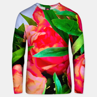 Miniaturka I'd Rather Wear Flowers In My Hair Than Diamonds Around My Neck Unisex sweater, Live Heroes