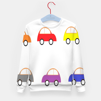 Thumbnail image of Colorful small cars Kid's sweater, Live Heroes