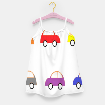 Thumbnail image of Colorful small cars Girl's dress, Live Heroes