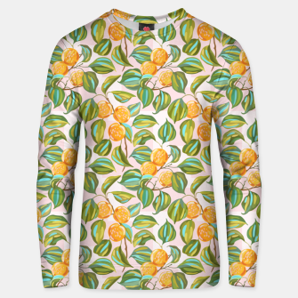 Thumbnail image of Honey apricots on a sunny day Unisex sweater, Live Heroes