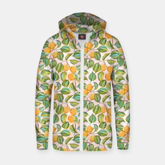 Thumbnail image of Honey apricots on a sunny day Zip up hoodie, Live Heroes