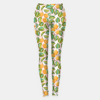Thumbnail image of Honey apricots on a sunny day Leggings, Live Heroes
