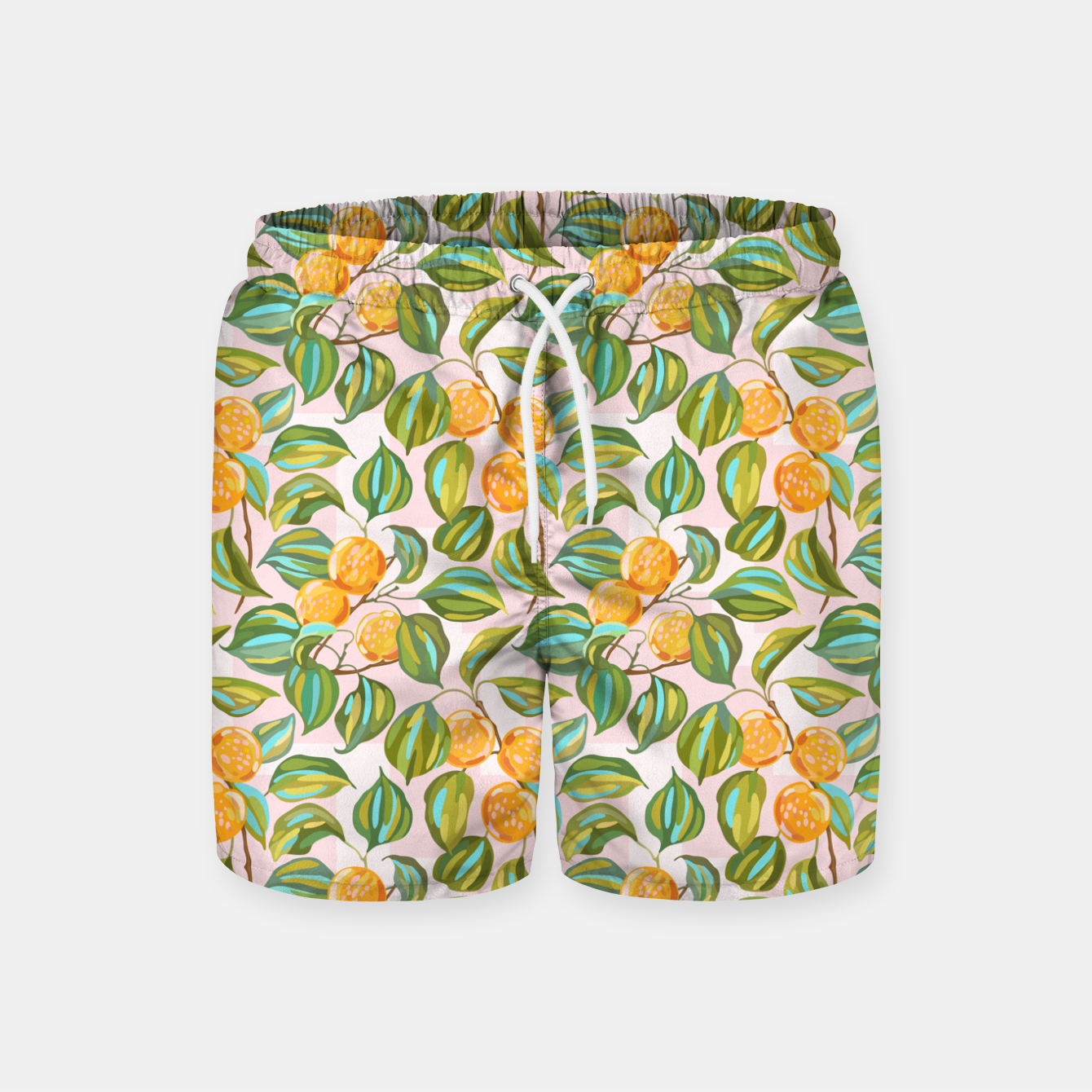 Image of Honey apricots on a sunny day Swim Shorts - Live Heroes