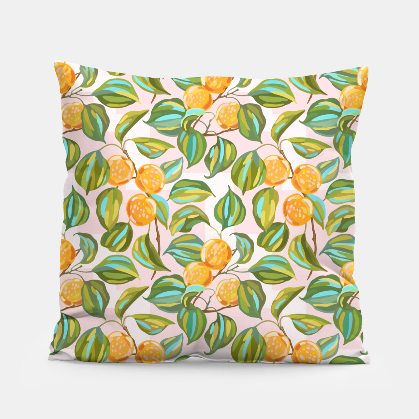 Image of Honey apricots on a sunny day Pillow - Live Heroes
