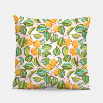 Thumbnail image of Honey apricots on a sunny day Pillow, Live Heroes
