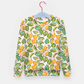 Thumbnail image of Honey apricots on a sunny day Kid's sweater, Live Heroes