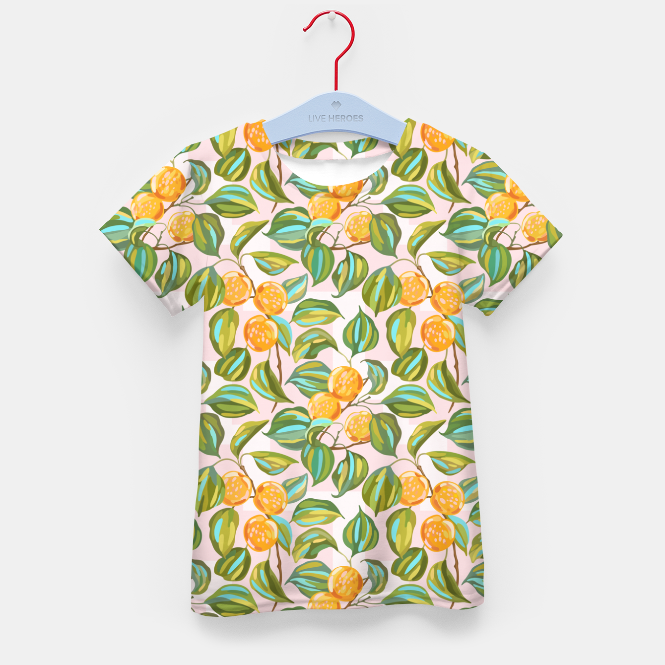 Image of Honey apricots on a sunny day Kid's t-shirt - Live Heroes