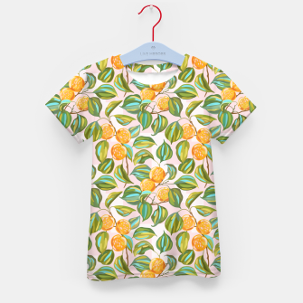 Thumbnail image of Honey apricots on a sunny day Kid's t-shirt, Live Heroes