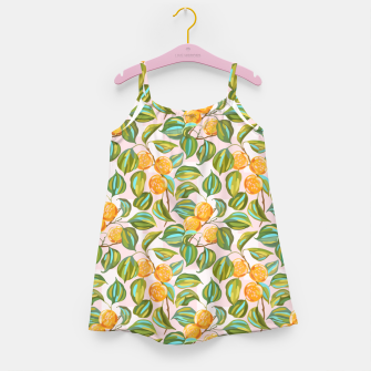Thumbnail image of Honey apricots on a sunny day Girl's dress, Live Heroes
