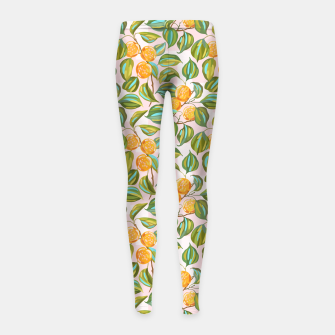 Thumbnail image of Honey apricots on a sunny day Girl's leggings, Live Heroes
