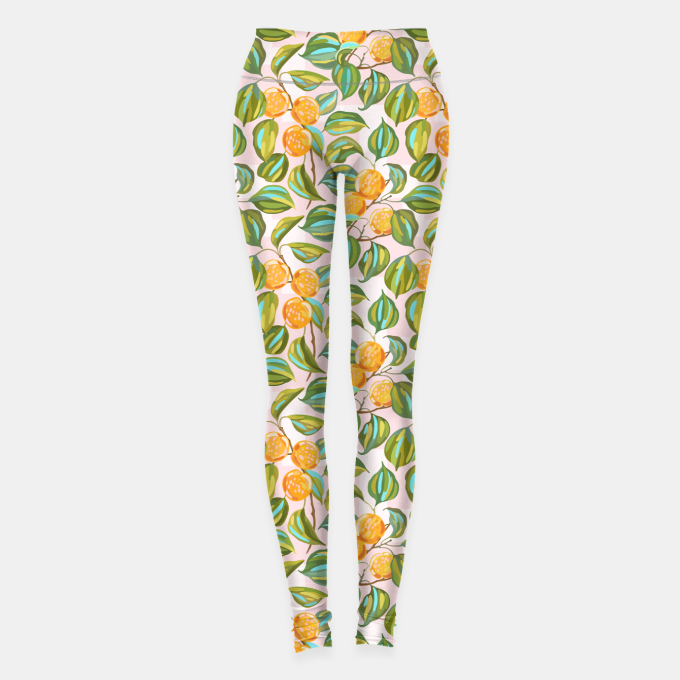 Image of Honey apricots on a sunny day Leggings - Live Heroes