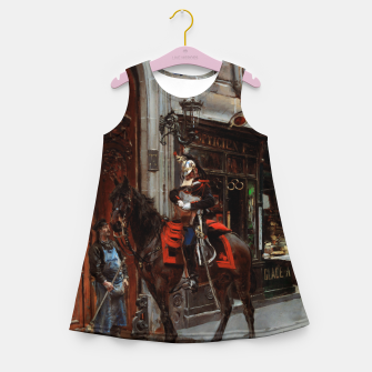 Thumbnail image of The Dispatch Bearer by Giovanni Boldini Girl's summer dress, Live Heroes