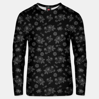 Thumbnail image of B&W Roses - Black version Unisex sweater, Live Heroes