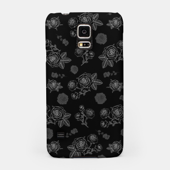 Thumbnail image of B&W Roses - Black version Samsung Case, Live Heroes