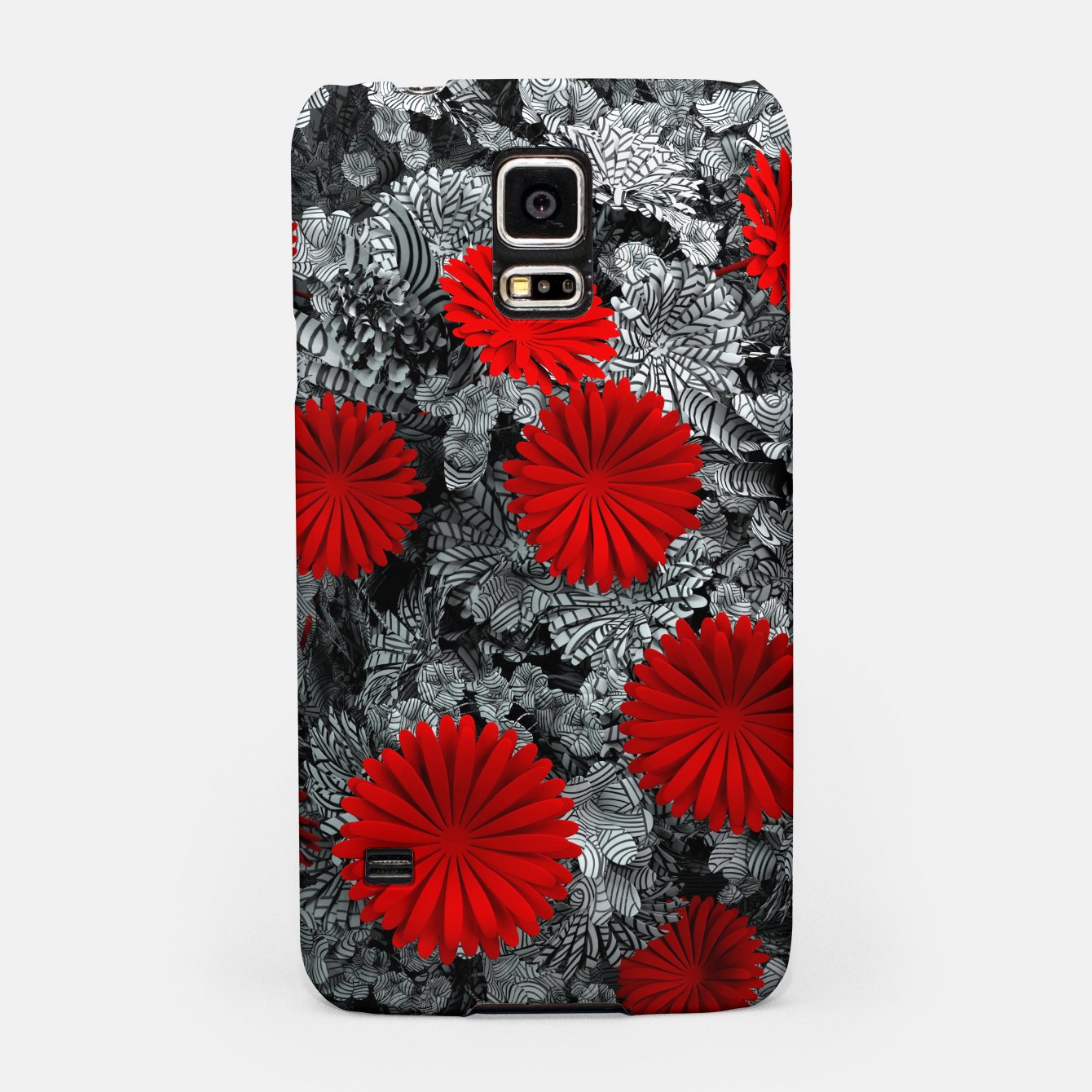 Image of Red Garden Samsung Case - Live Heroes