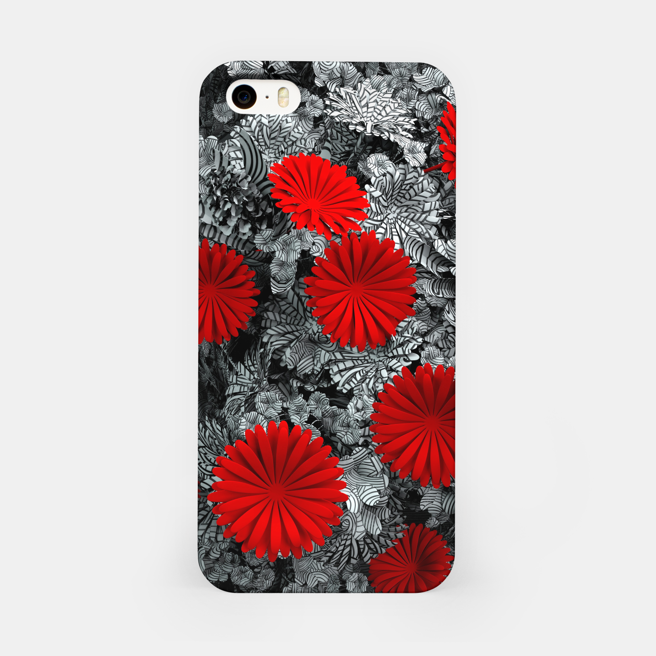 Image of Red Garden iPhone Case - Live Heroes