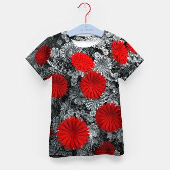 Thumbnail image of Red Garden Kid's t-shirt, Live Heroes