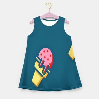 Thumbnail image of Strawberry ice cream Girl's summer dress, Live Heroes