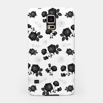 Thumbnail image of B&W Roses - White version Samsung Case, Live Heroes