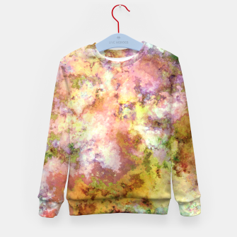 Thumbnail image of Bursting through the sky Kid's sweater, Live Heroes