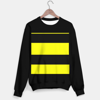 Thumbnail image of Yellow and black stripes Sweater regular, Live Heroes