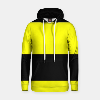 Thumbnail image of Yellow and black stripes Hoodie, Live Heroes