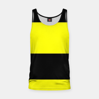 Thumbnail image of Yellow and black stripes Tank Top, Live Heroes