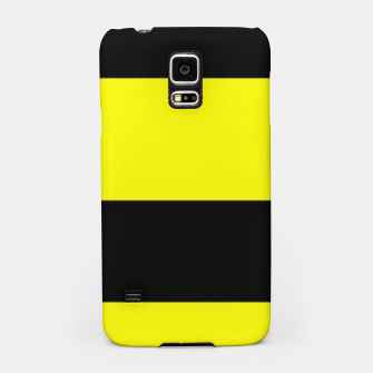 Thumbnail image of Yellow and black stripes Samsung Case, Live Heroes