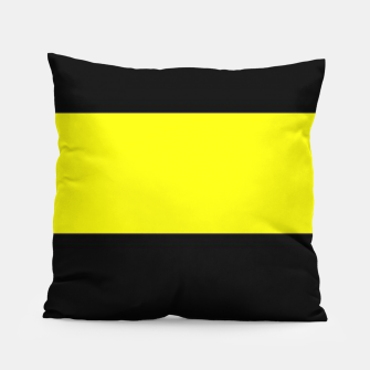 Thumbnail image of Yellow and black stripes Pillow, Live Heroes
