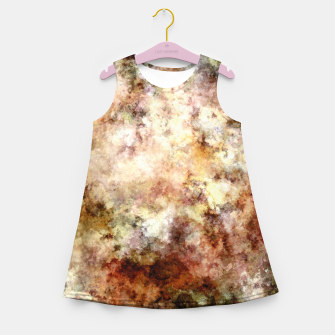Thumbnail image of Around and around Girl's summer dress, Live Heroes