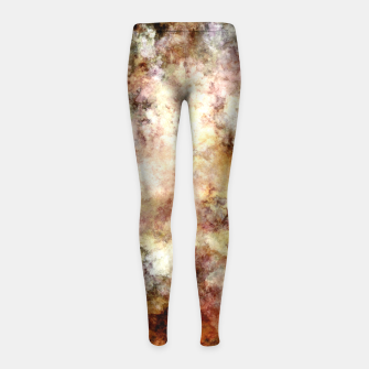 Thumbnail image of Around and around Girl's leggings, Live Heroes