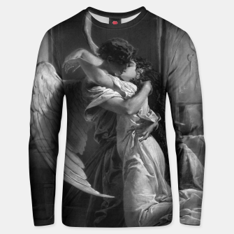 Thumbnail image of Romantic Encounter by Mihaly von Zichy Unisex sweater, Live Heroes