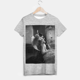 Thumbnail image of Romantic Encounter by Mihaly von Zichy T-shirt regular, Live Heroes