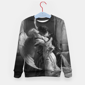 Thumbnail image of Romantic Encounter by Mihaly von Zichy Kid's sweater, Live Heroes