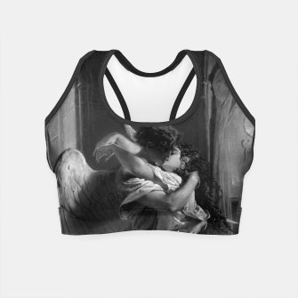 Thumbnail image of Romantic Encounter by Mihaly von Zichy Crop Top, Live Heroes