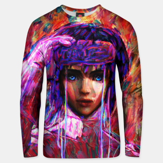 Thumbnail image of ghost in the shell major Unisex sweater, Live Heroes