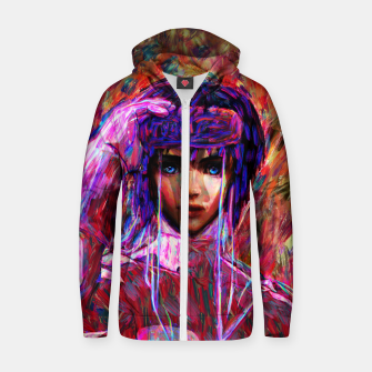 Thumbnail image of ghost in the shell major Zip up hoodie, Live Heroes