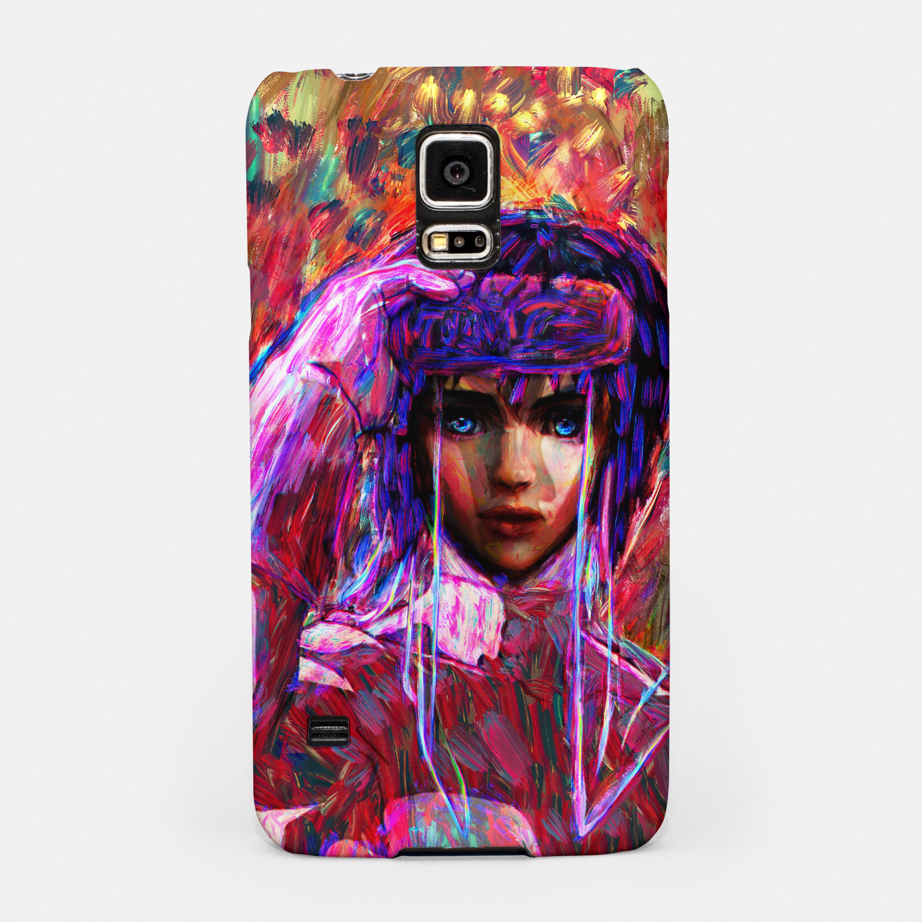 Image of ghost in the shell major Samsung Case - Live Heroes