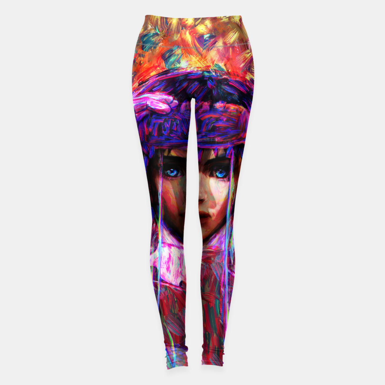 Image of ghost in the shell major Leggings - Live Heroes