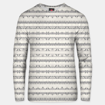 Thumbnail image of Mixed Gray Striped Ethnic Seamless Pattern Unisex sweater, Live Heroes